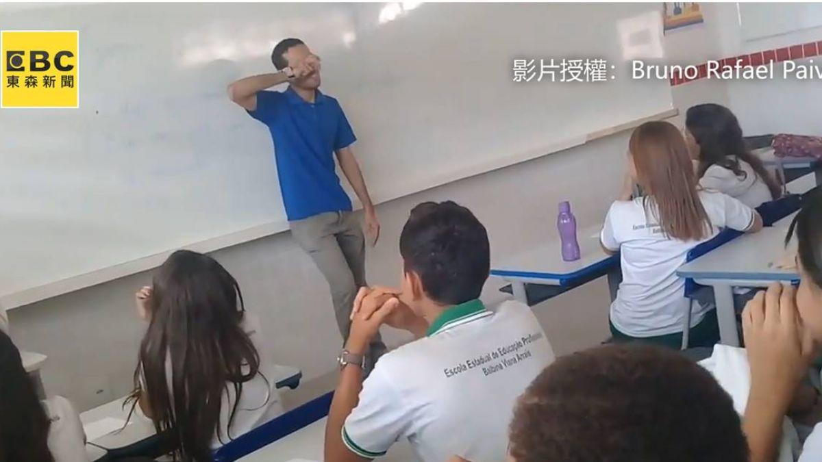 領不到薪水睡教室!學生尋寶式驚喜暖哭老師