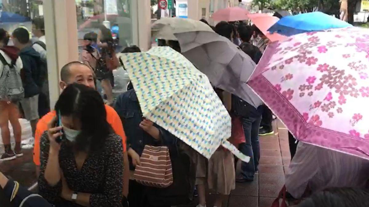 瑪莉亞颱風來襲!民眾16:00下班 人潮擠爆北捷、公車站