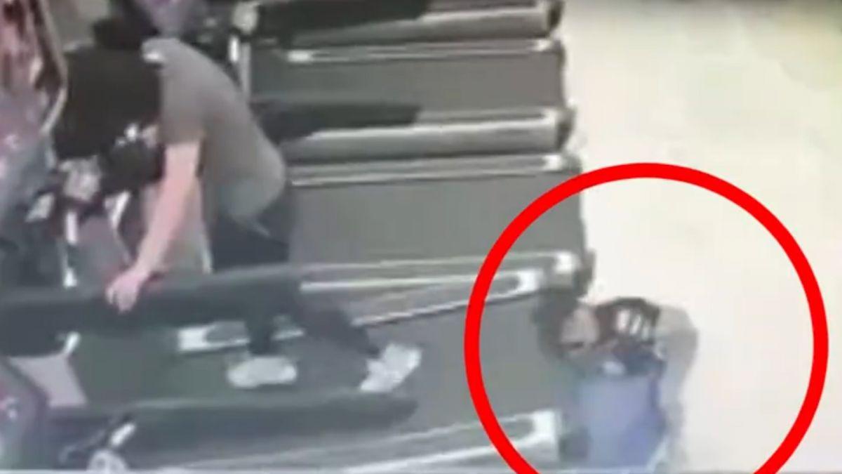 驚悚直擊!童手捲跑步機 旁人急搶救