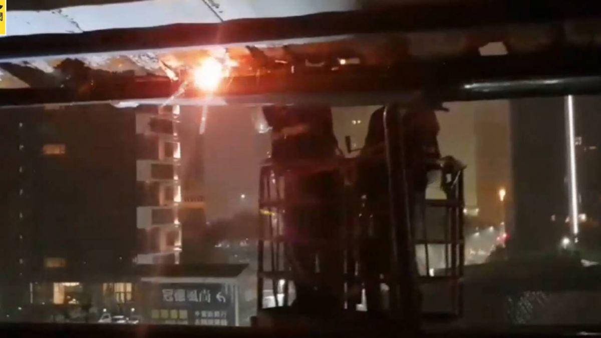 颱風瑪莉亞襲台4萬戶停電 逾半已搶修復電