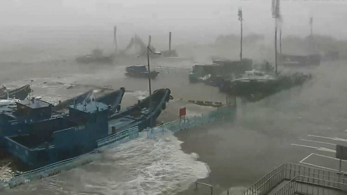 颱風瑪莉亞降雨豐沛 基隆員山子今年第二次分洪