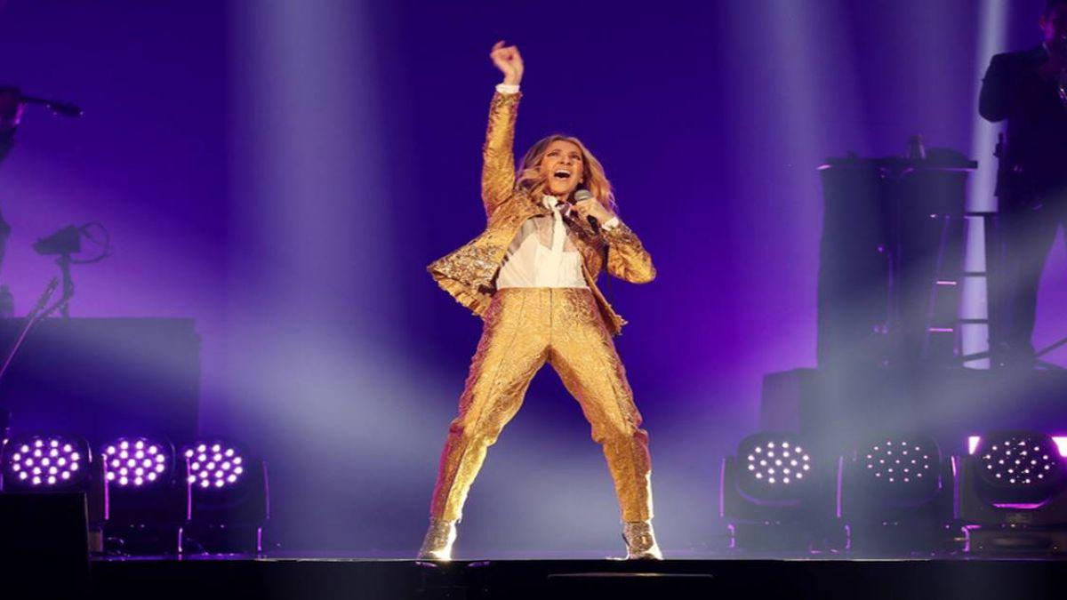 席琳狄翁飆唱經典名曲 幽默逗樂粉絲