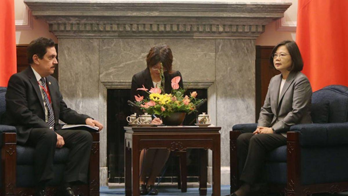 蔡總統:台灣願為中美洲統合盡一份心力