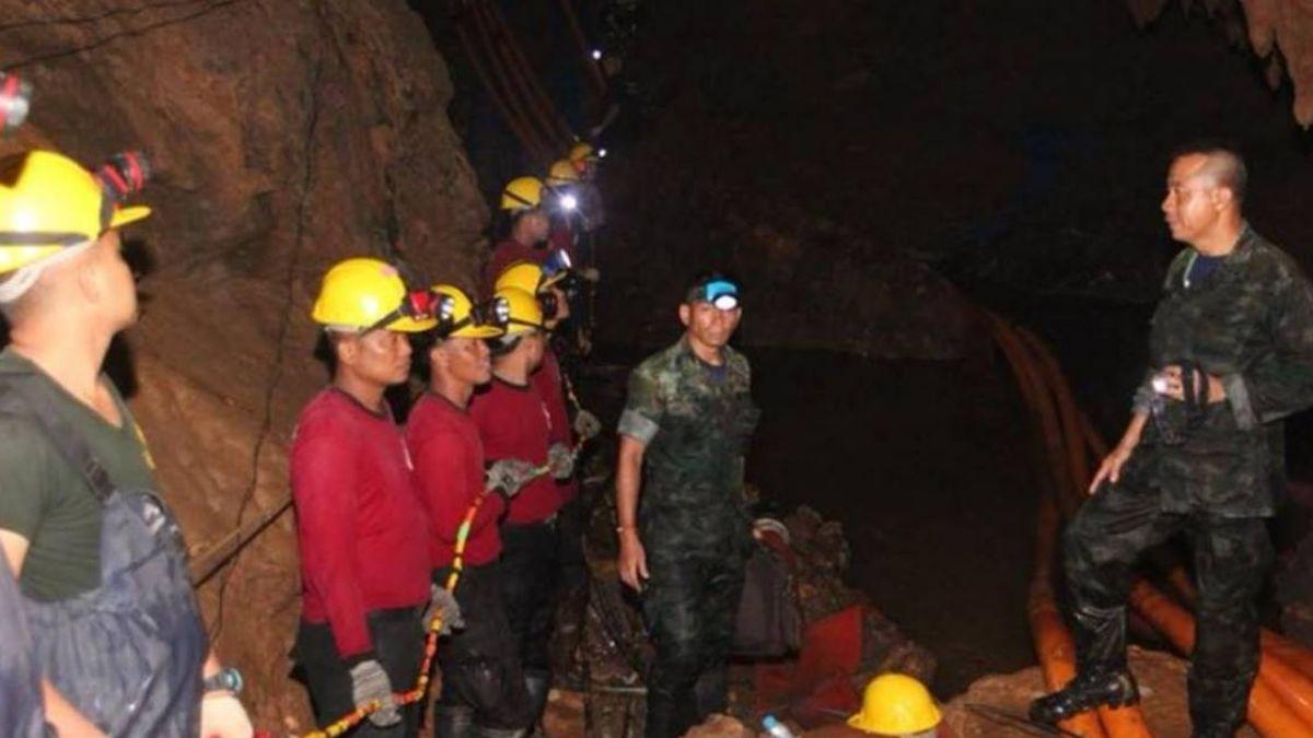 救出最後一位小將 泰國洞穴救援主抽水機突故障…差點出不來