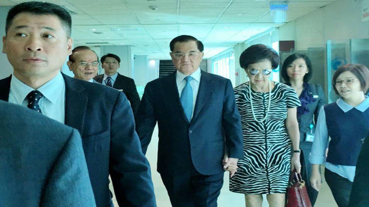 連戰率團出訪北京 預計13日連習會