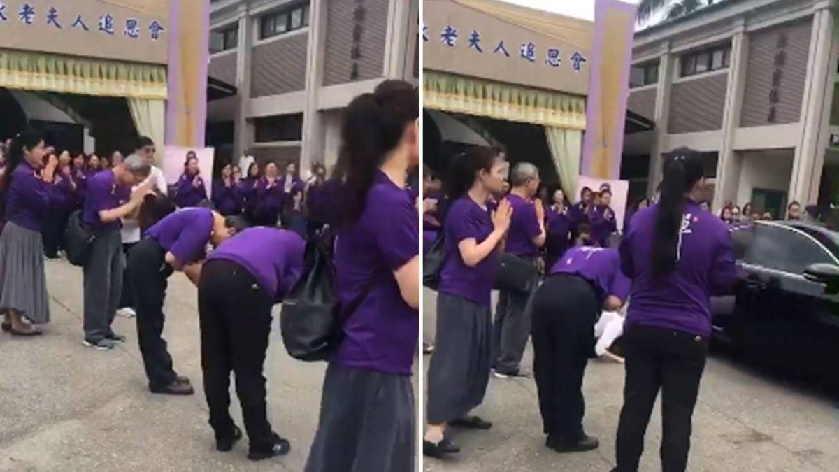 妙禪現身告別式…網狂酸  葬儀社怒批:同業搞鬼
