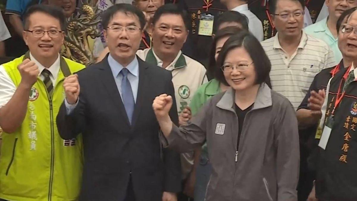 總統肯定台南長照2.0 讚市民有智慧選出賴清德