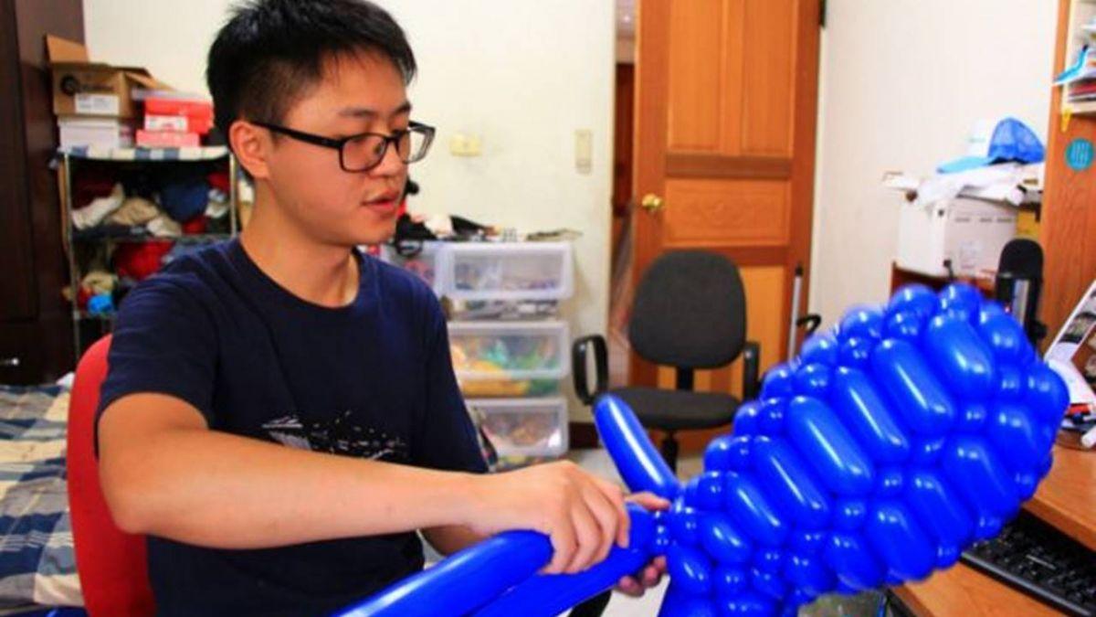 宋俊霖編織氣球夢 奪美國氣球大賽冠軍