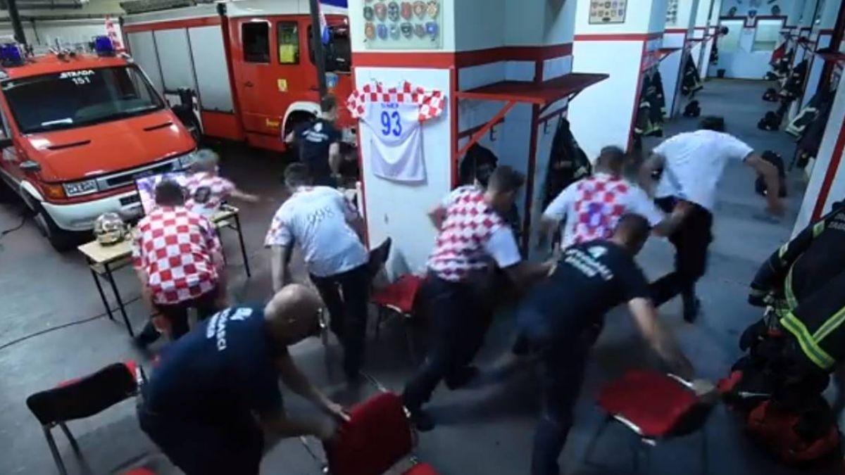 世足看一半響警報!克羅埃西亞消防員0猶豫 20秒火速出勤