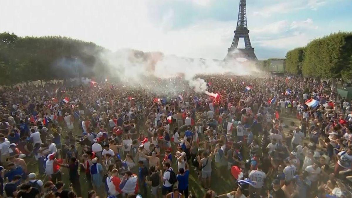 法國4:2退克羅埃西亞  隊史二度奪世足冠軍