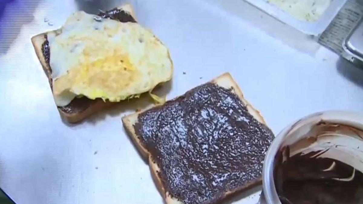 早餐店隱藏版吃法!甜鹹混搭巧克力、草莓吐司夾蛋、肉鬆
