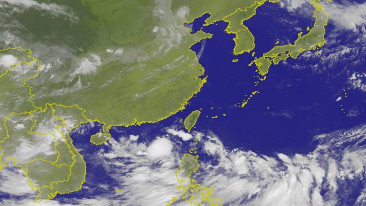 東部有短暫雨 西半部好天氣高溫達36度