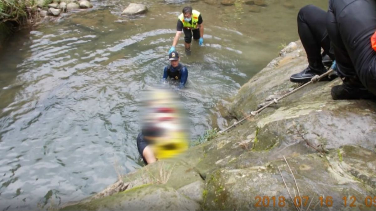 救溺水友…26歲男亡!仙女瀑布再釀一死 傳說:精靈盯水面抓交替