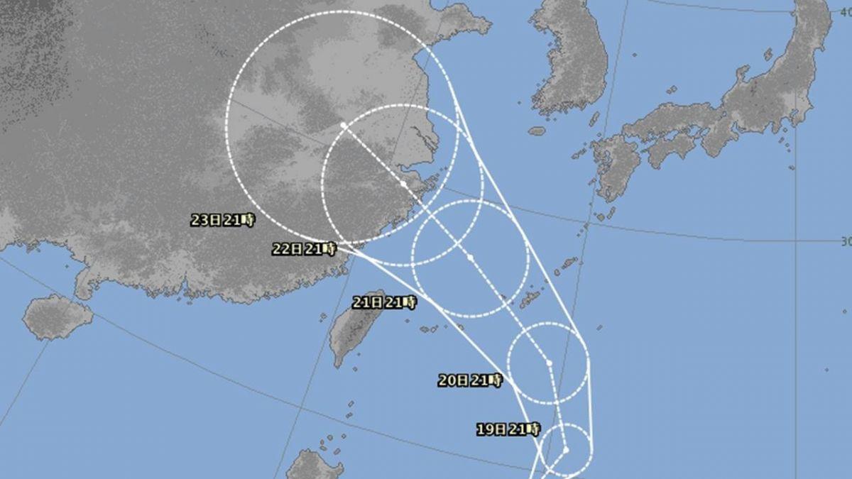 快訊/10號颱風「安比」生成! 北台灣周末恐降雨