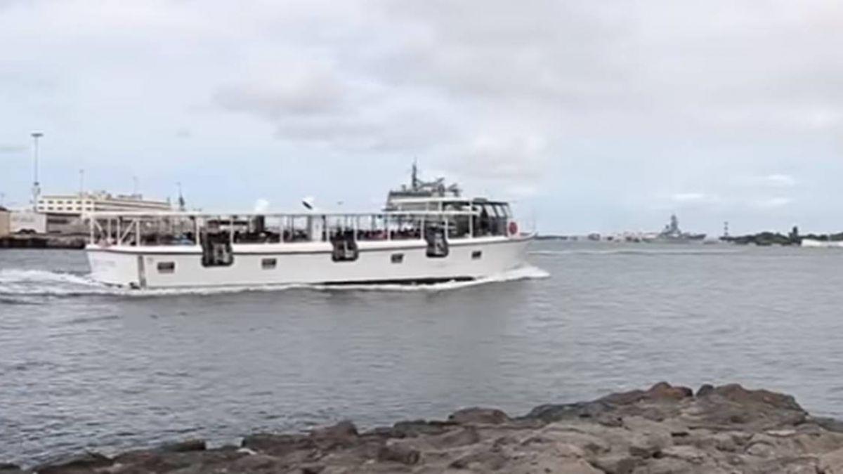 環太平洋軍演 美軍「亞利桑那」潛水訓練