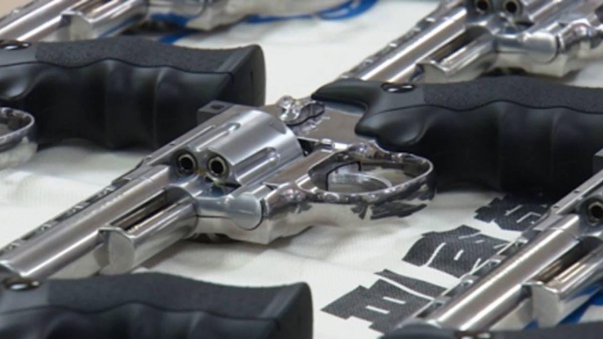 504把玩具槍遭攔截!警送驗後 82把超標違法