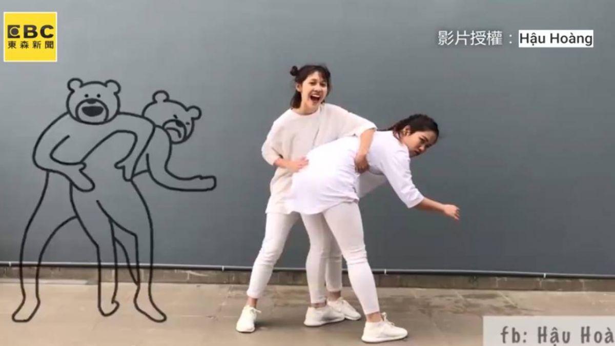 爆笑!越南女孩神還原夯貼圖 恥度爆表