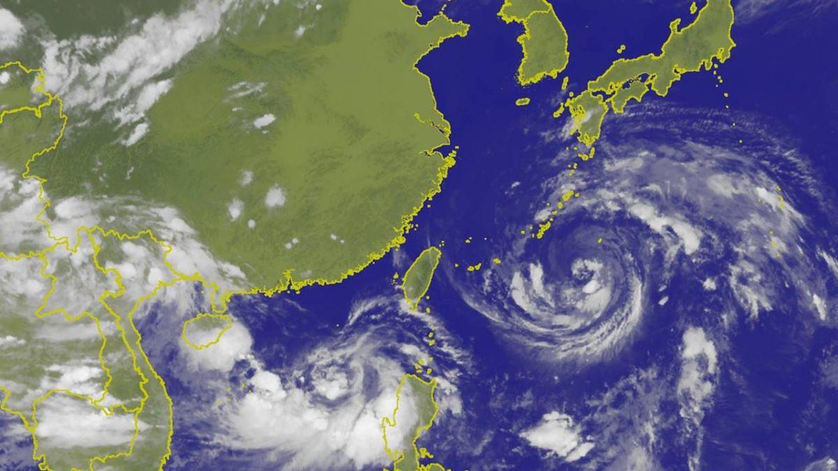 周末全台有雨!南海熱帶擾動增強 不排除成11號颱風「悟空」