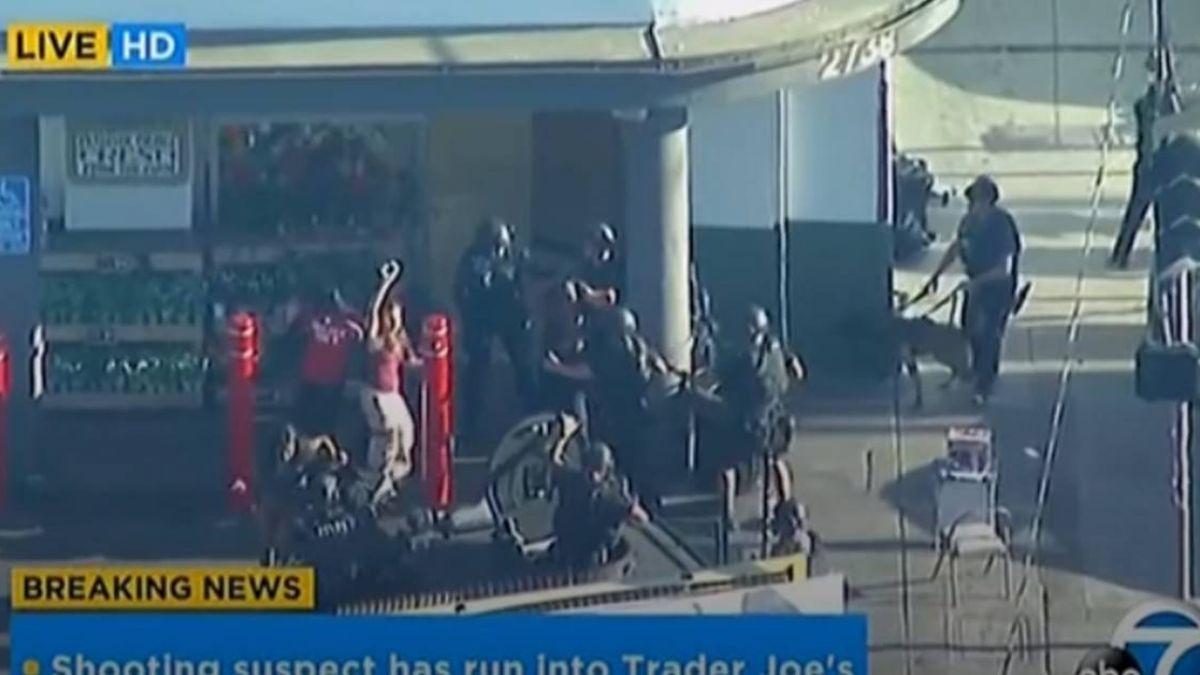洛杉磯警逮超商嫌犯 人質挾持事件落幕