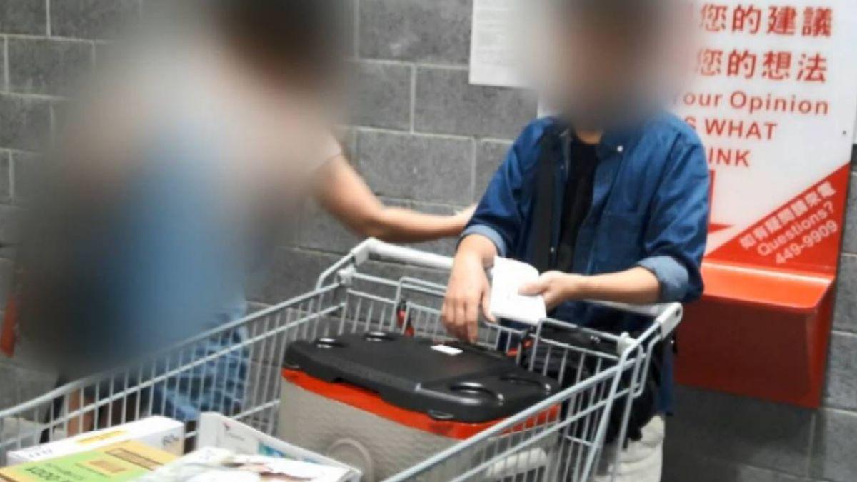 破壞包裝偷行動電源!民眾目擊揪賊 男遭活逮辯不知情