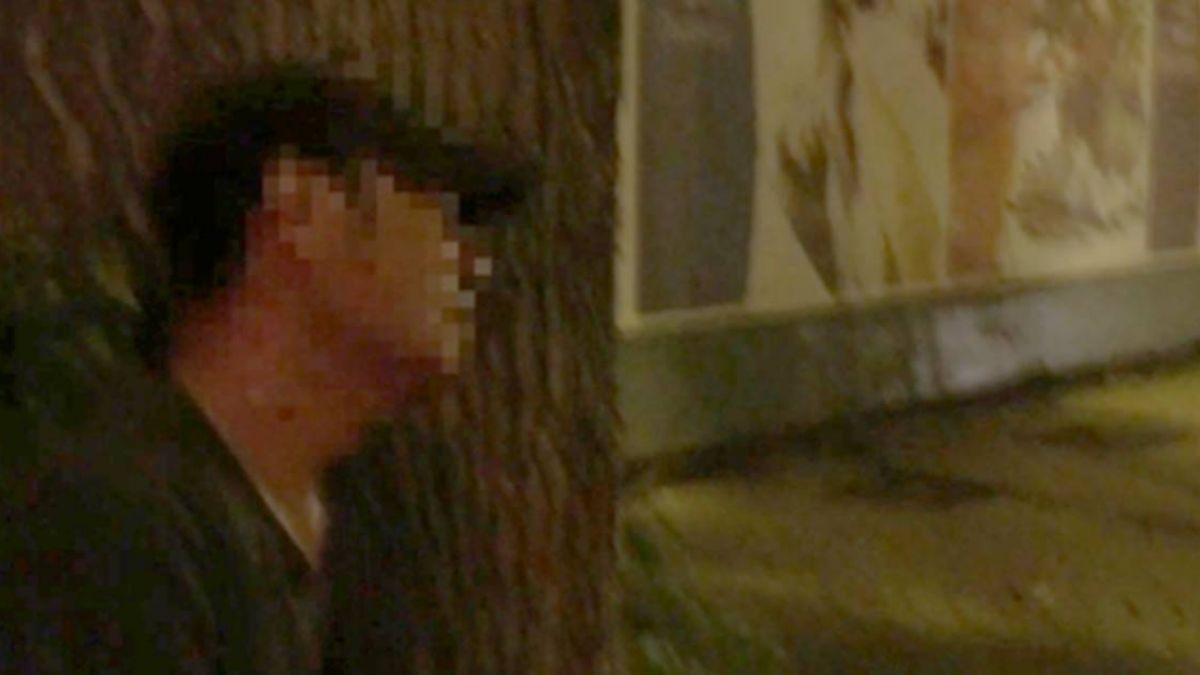被前女友騙?醉男騎車追撞 坐地哭喊:有夠沒良心