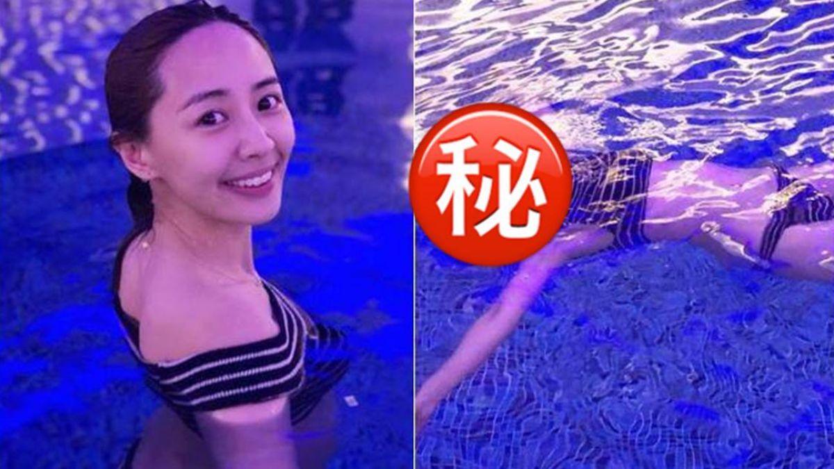 賴薇如浮泳照「超不吉利!」 網友急報警:以為浮屍