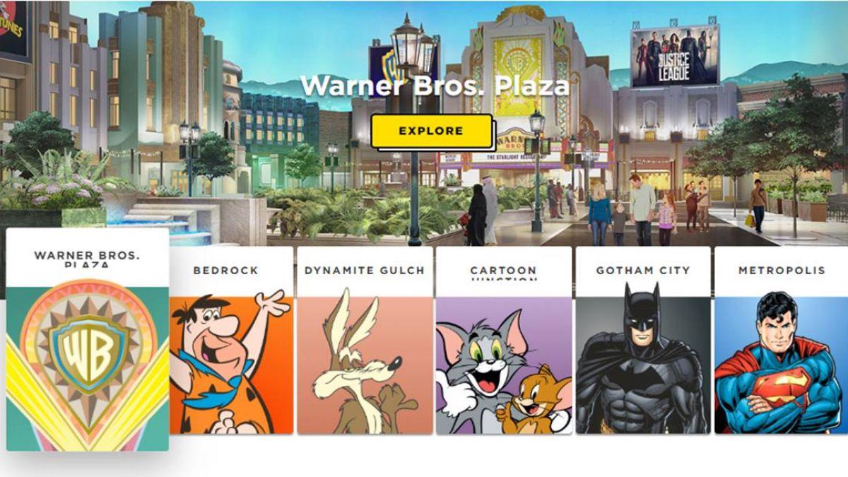 集結3大超級英雄 華納兄弟10億美元室內樂園開幕