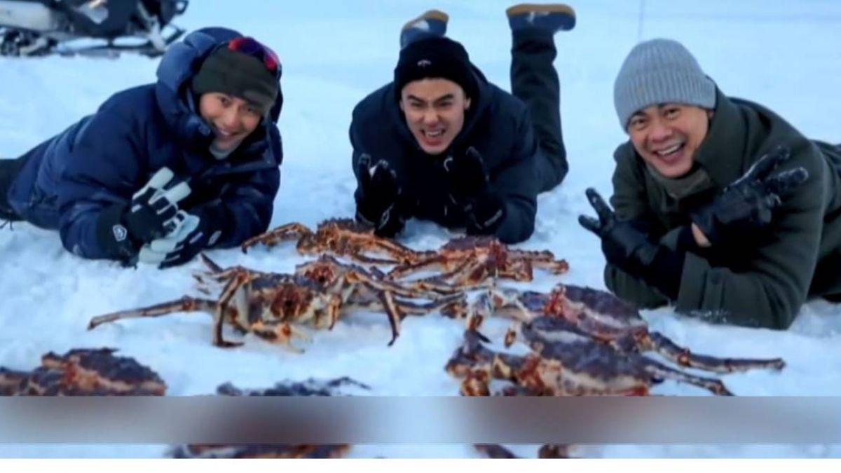 重現《與龍共舞》經典!謝霆鋒、阮經天挪威組「抓蟹男團」