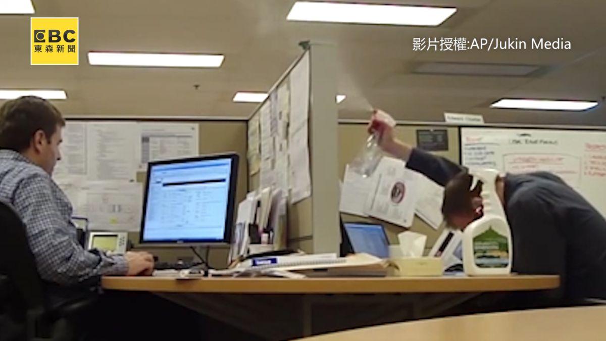 「噴嚏瀑布」惡整隔壁同事  男告狀碎念停不了