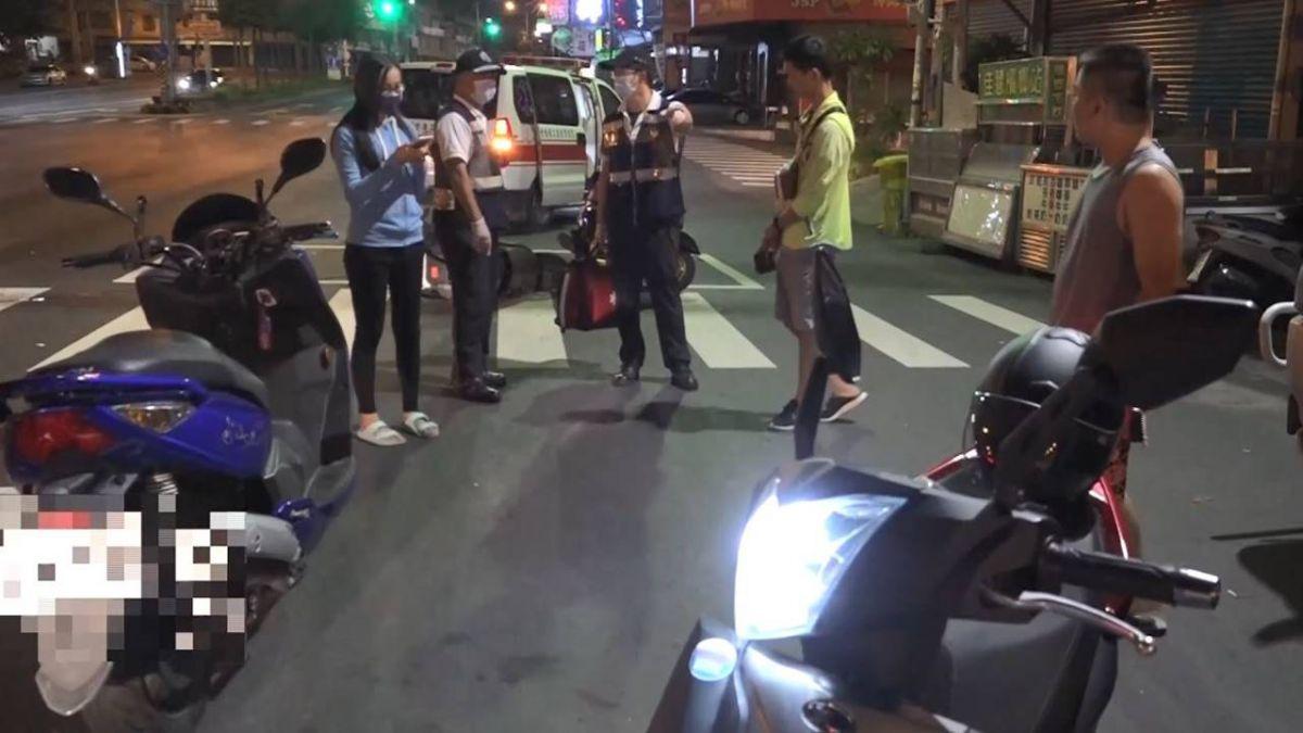 男酒駕追撞2機車 辯「朋友騎的」 警:就是你