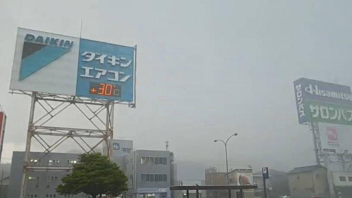 「雲雀」襲擊日本!餐廳落地窗遭大浪擊碎 各地釀嚴重災情