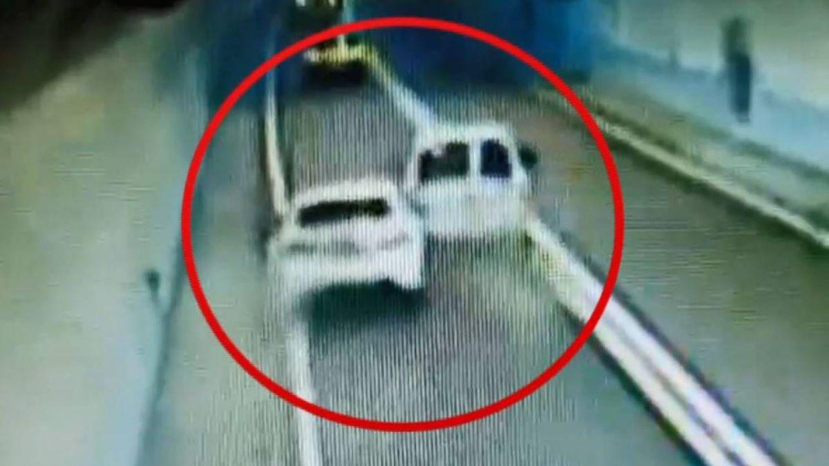 傻眼!雪隧內追撞加速逃 受害車主PO行車紀錄器欲逮人