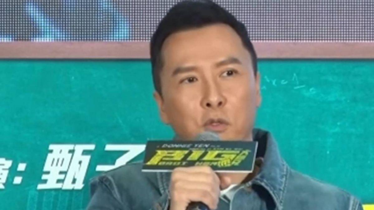 香港版麻辣教師 甄子丹8月中來台當「大師兄」