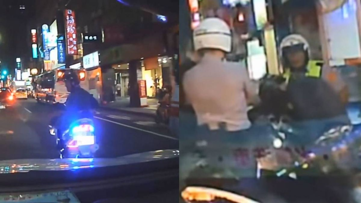 惡意逼車還囂張飆髒話!駕駛堅持提告 見警他下跪痛哭求饒