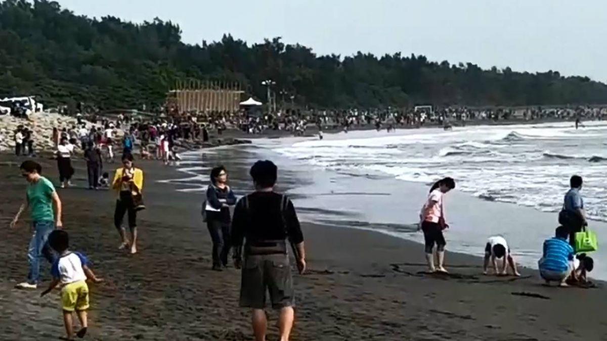 小心!漁光島海域藏「傷」機 利石割遊客腳縫10針