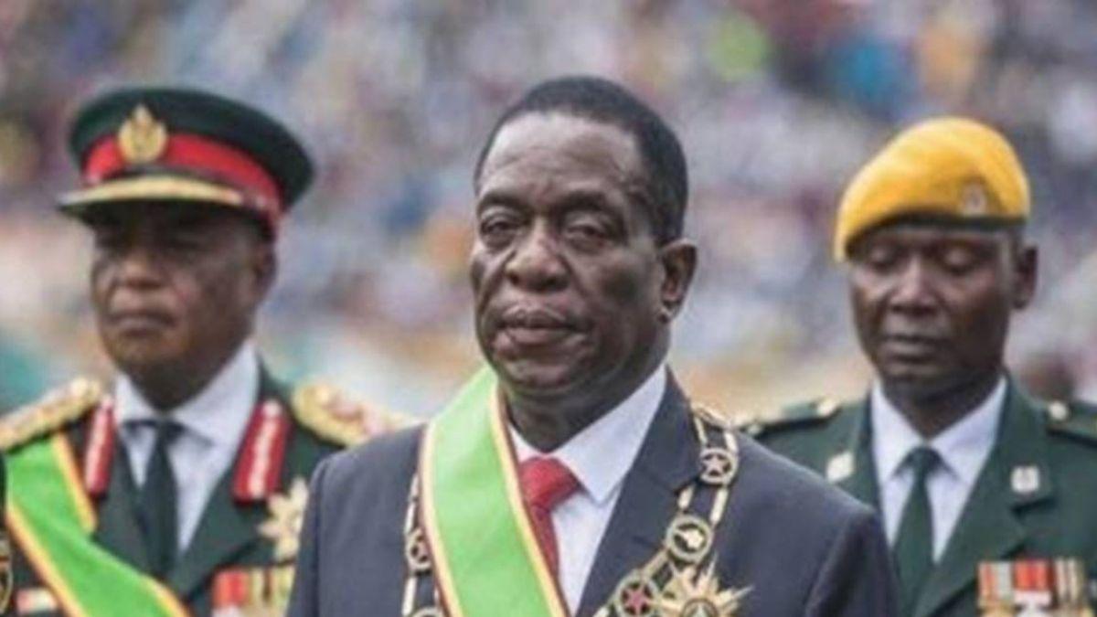辛巴威總統大選 姆南加瓦險勝