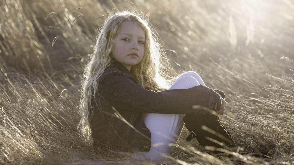 「全球最美少女」長大了! 現年13歲依然美麗