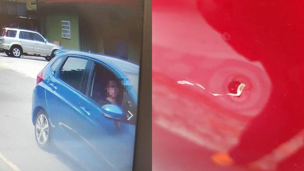車上還有妻小!不給超車…他竟慘遭「蛇行獵殺」逃命