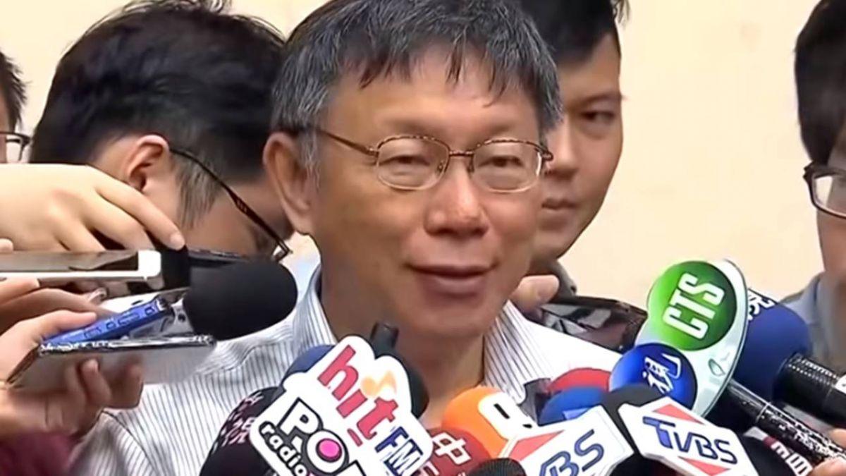 藍提吳音寧「到立院備詢」 柯P:乖乖來議會