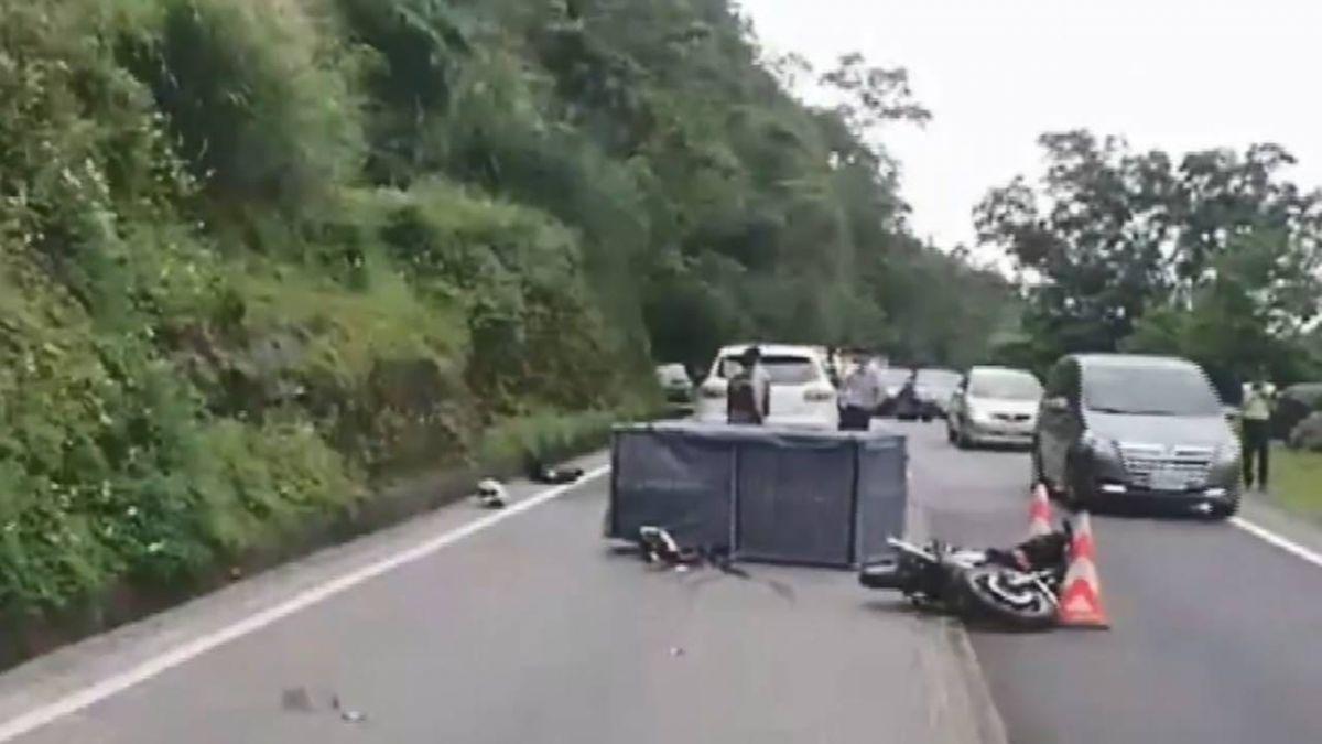 男大生違規超車自摔遭輾死 砂石車司機不起訴