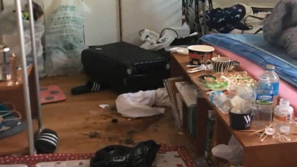 留學生當二房東遭惡搞 房內垃圾散一地