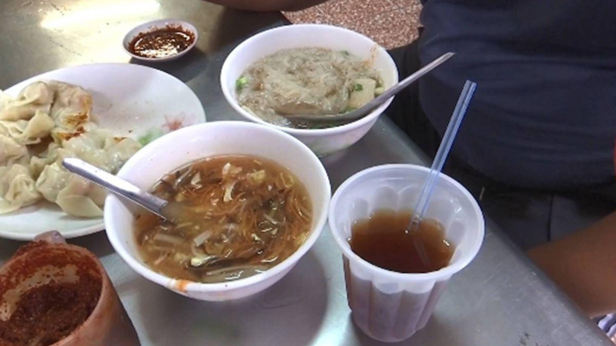 晚了吃不到!台南45年小吃雙人餐99元 有麵、水餃、紅茶