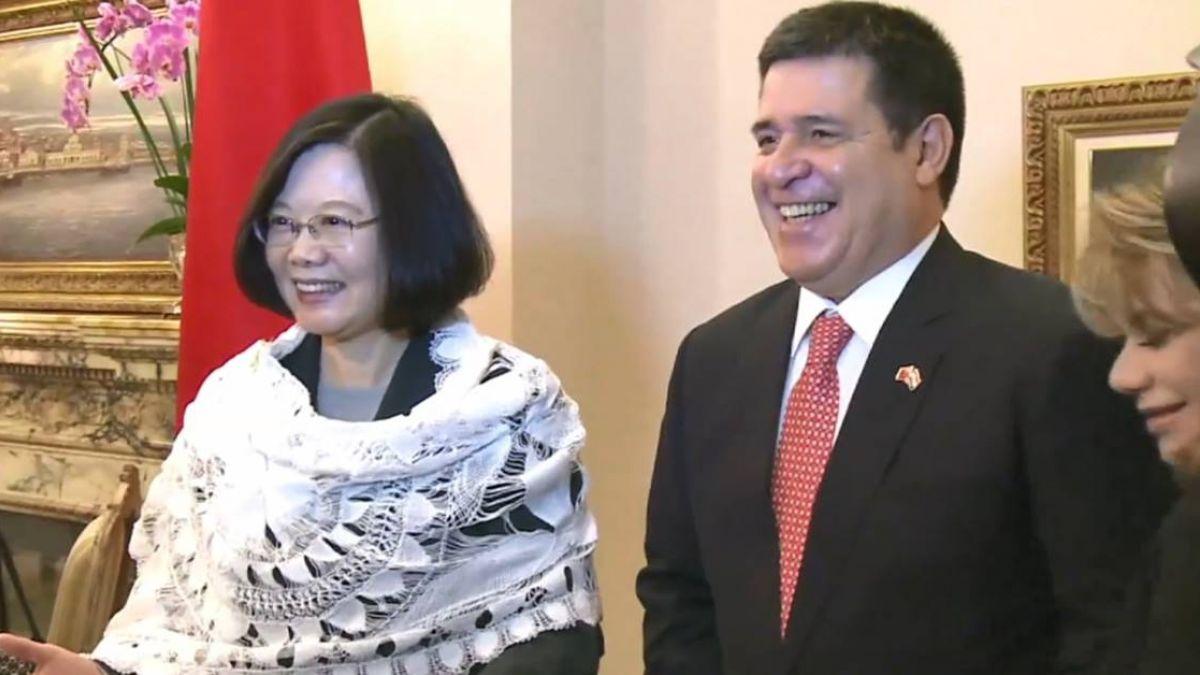 蔡與巴國新總統會面 邀阿布鐸10月來台國是訪問