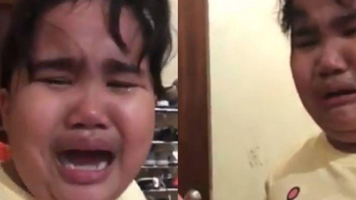 擔心臭氧層破洞 女童嚇哭「我不想死!」百萬網友朝聖笑翻