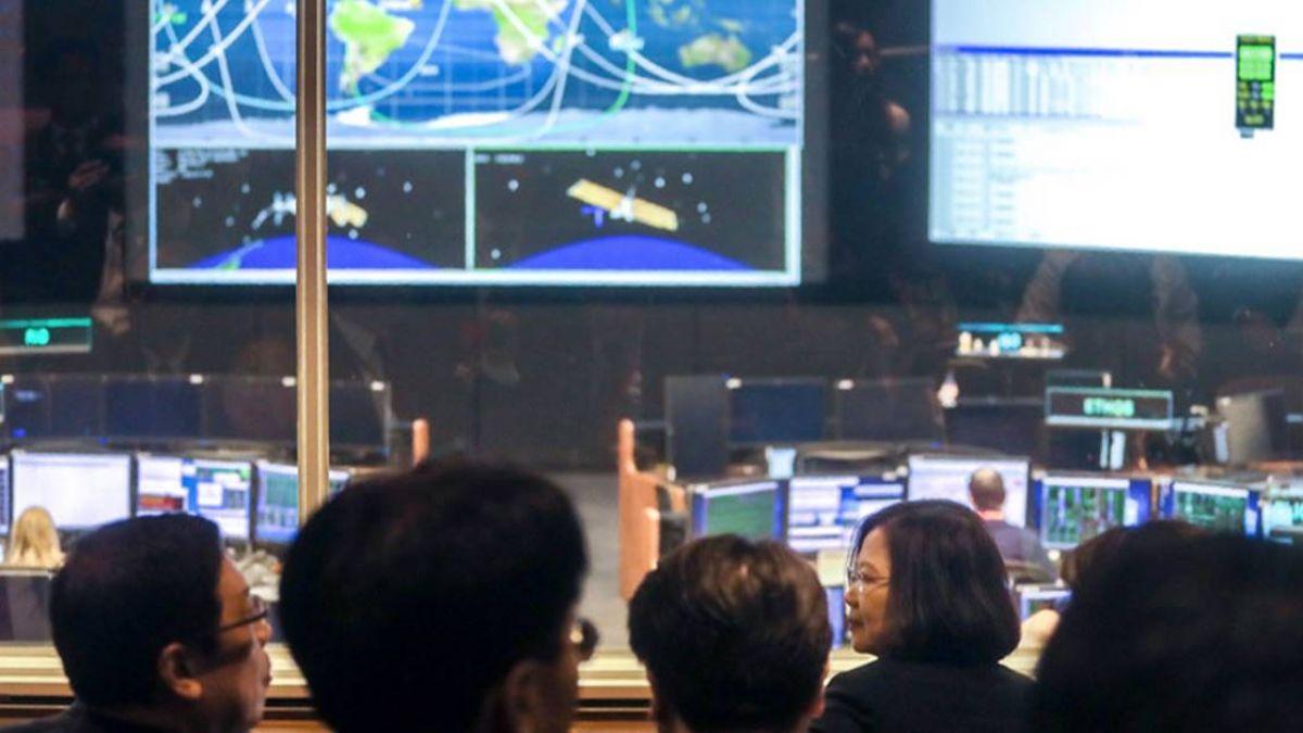 台美合作福衛七號將升空 總統首訪NASA受矚目