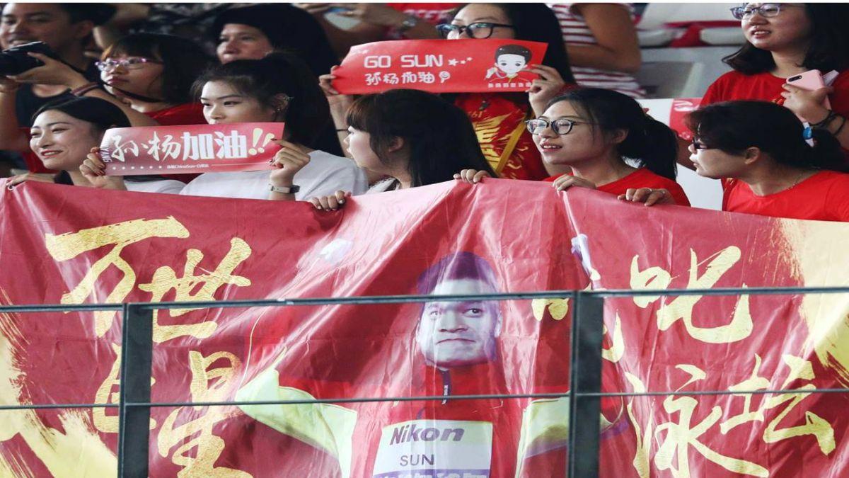 「中國飛魚」孫楊身高2米 發豪語「泳」奪4金