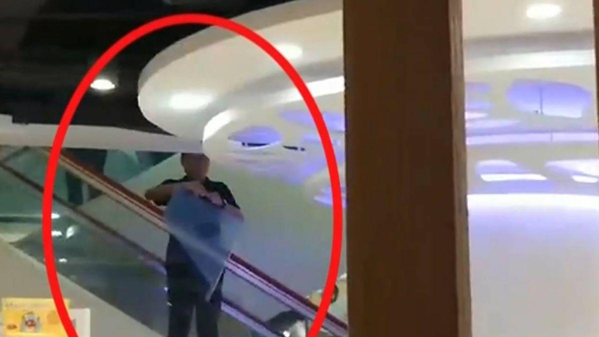 【獨家】百貨手扶梯夾傷人 目擊者錄影控:沒裝防撞板!