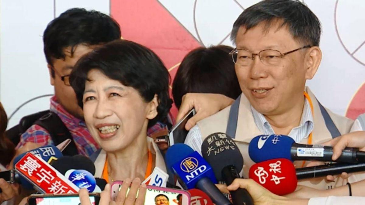 陳佩琪曾問「是不是要選總統」 柯驚:為何這樣問