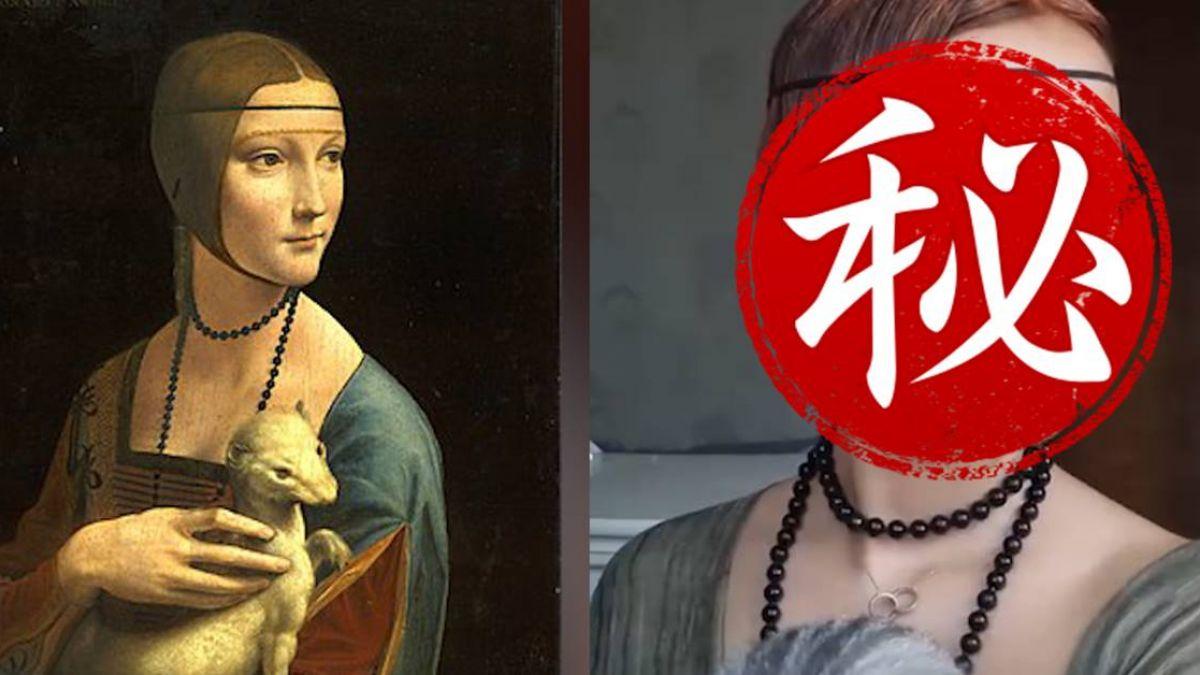 行走的小畫家 神復活名畫人物 網:堪比整容