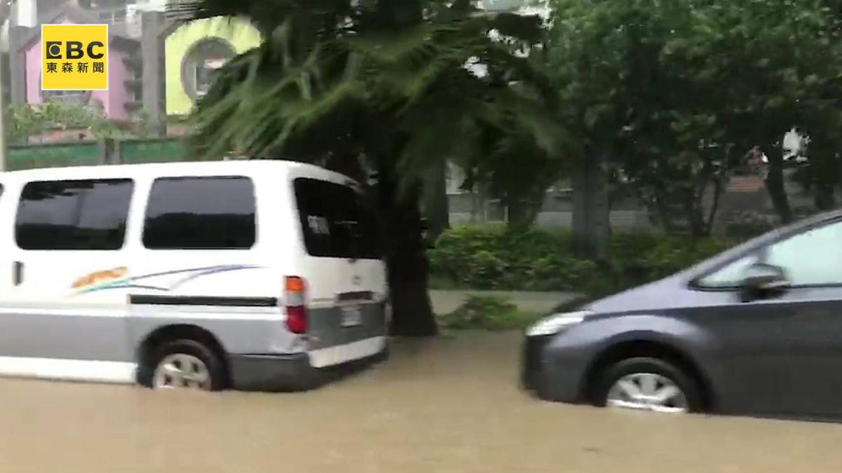 「水炸彈」襲南台灣釀災!午後北移18縣市豪大雨特報
